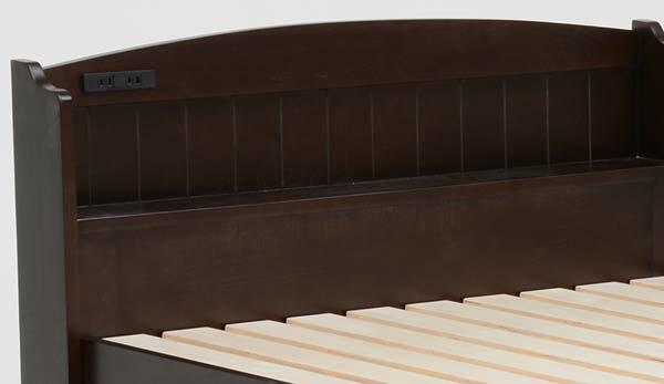 【ベッド】シングルベッド【ベッド部品】萩原 MB-5003SB-DBR・ダークブラウン【TD】【】【HH】