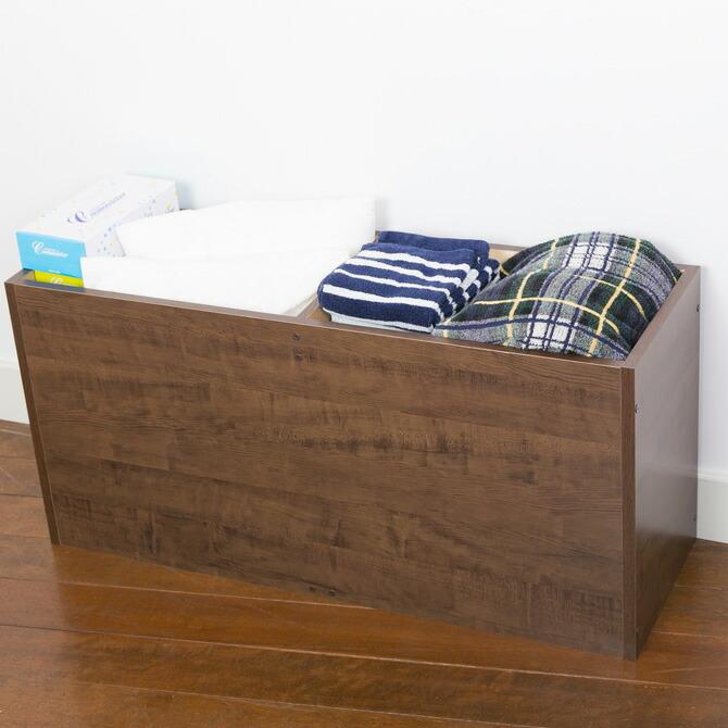 樹脂畳ベンチ スリムタイプ 幅180cm 畳を外せば大容量の収納スペースとして活躍します。
