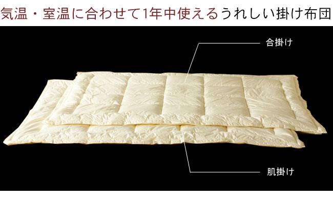 寝具_インビスタ社製クォロフィル布団(オールシーズン用掛け布団)-03