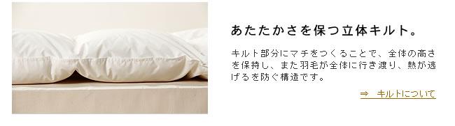 羽毛布団_ホワイトダック85%_ジュニアサイズ_20
