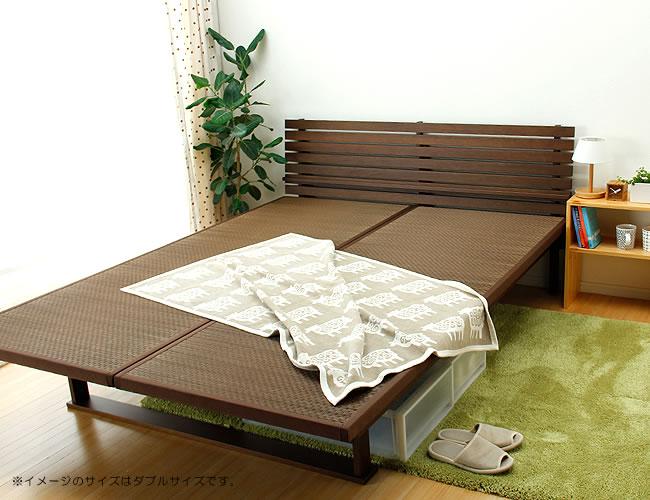 国産畳ベッド_心落ち着く風合いの木製畳ベッド_01