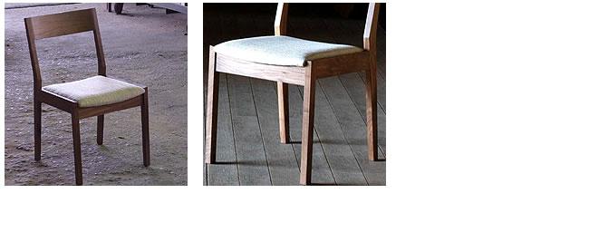 ダイニング_無垢の木製チェアー【ムカイ】(肘無し椅子)-03