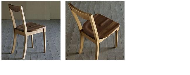 ダイニング_無垢の木製チェアー【ミッドセンチュリー】(肘無し椅子)-03