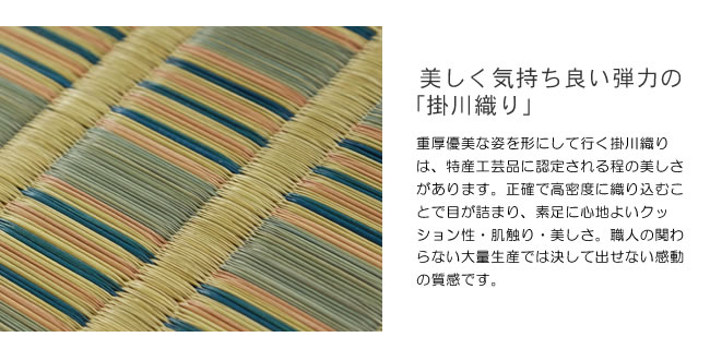 い草花ござ_京縞_04