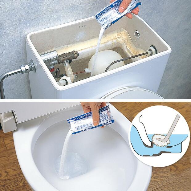 TK トイレタンク洗浄剤・4包入