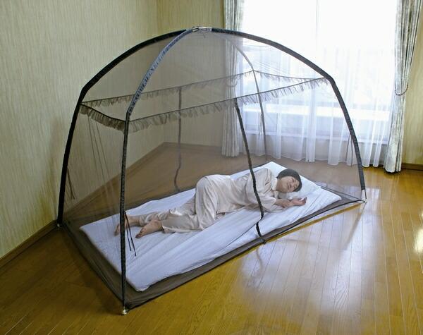 組み立て式蚊帳