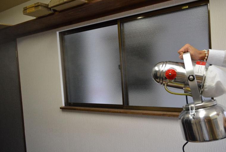 トライジェット 超微粒子ミスト器 ULV器 噴霧器 殺虫剤・殺菌剤・消臭剤の噴霧に最適