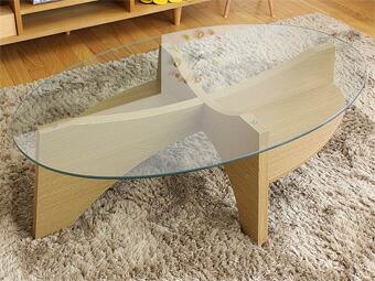 オーバルテーブル LE-454