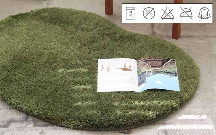 シャギーラグ ペコラ ビーンズ 90cm×60cm