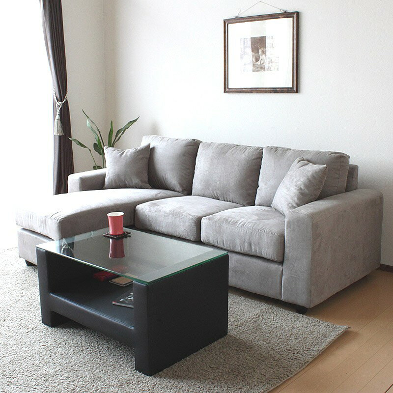 ファブリックコーナーソファ「SHELMY」の画像。当店ソファ・座椅子ランキング5位獲得!