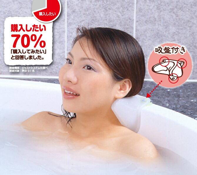お風呂用つぼまくら