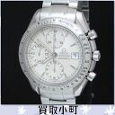 Omega (OMEGA) 3211.30 Speedmaster date chronograph automatic men's Watch Silver automatic watch for men 100 m water resistant SPEEDMASTER 32113000 3211-30% off