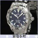 (OMEGA) Omega 2554.80 Seamaster 300 professional medium automatic chronometer blue automatic gender Unisex Watch Pro divers boys Watch SS limited edition model 2554-80 25548000 AUTO SEAMASTER300% off