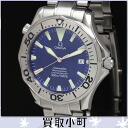 Omega 2255.80 Seamaster 300 Pro divers mens watch large blue automatic mens watch professional SS automatic blue character Panel 2255-80 225580 SEAMASTER300 AUTO 20% off