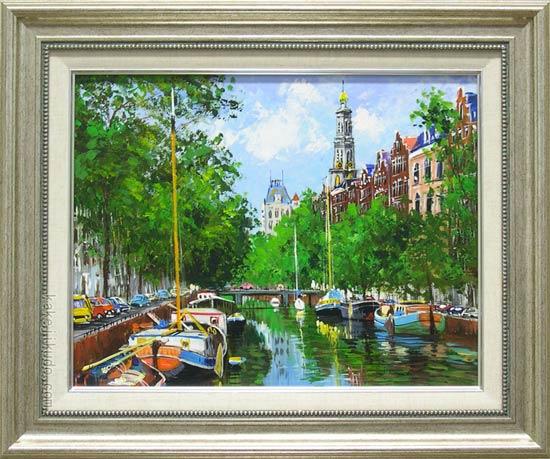アムステルダムの運河の画像 p1_35
