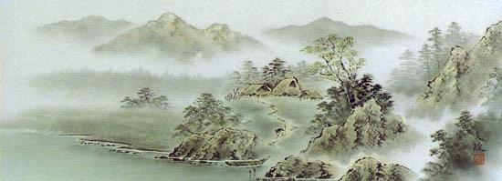 名称板画风景画 (文雄小林)