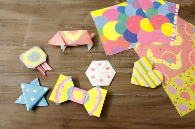 せん【罫線あり 便せん 折り紙 ... : ウサギの折り方 折り紙 : すべての折り紙