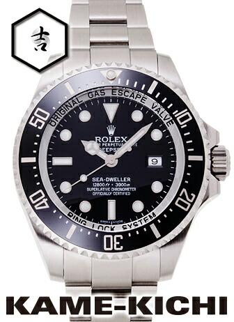 シードゥエラー ディープシー 116660(ブラック)オイスターブレスレット