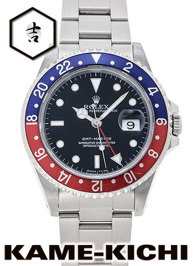16700 GMTマスター スポーツ 自動巻き(ブラックx赤青)
