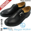 Regal Walker shoes 103W AH B( black) / REGAL WALKER men four circle business BLACK walking shoes // fs3gm shoes