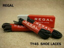 ■ ■ REGAL TY45 SHOE LACES dress brogue 66 cm min to biped concolor and legal business sures (four total) with Black Brown / fs2gm