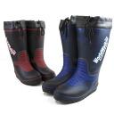 World Walker men's RB-553 The WorldWalker rain boot rain snow long-length rubber boots rain boots black Navy /