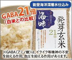 能登海洋深層水仕込み 海味 発芽玄米