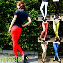 ニキシックス ( NIKISIX ) Dees stretch neon skinny Cara pants denim 851 red pepper RED PEPPER Lolita jeans ( LOLITA JEANS )