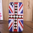 Five cases of case #31 cover fake leather coat iphone case hardware eyephone / studs /iphone5/ national flag / U.K. / England /England/ Union Jack with iphone5 studs