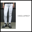 Dolce & Gabbana ( DOLCE &GABBANA ) ladies color jeans denim crash damage デニムチノ bottoms white denim jeans DOLCE &GABBANA-FTNWXD-G8889
