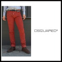 Disc aired (DSQUARED2) 2014 / 15 AW autumn winter new men's wash and damage processing stretch skinny jeans SLIM JEAN-slim with black tapered denim cotton Pant S74LA0627