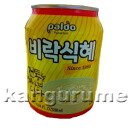 'Nipolândia' sikhye rice grains into juice ■ Korea food ■ low-price / Korea / Korea beverages and Korea drink / Korea juice / drink / beverage / juice / soft drinks / drinks
