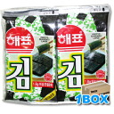ヘピョ Nori Bento for 10pcs x 30 bags ■ Korea food ■ Korea / Korea cuisine and Korea food material / Korea souvenirs / souvenirs / Korea Sea Moss seaweed Korea glue / glue / emergency / ヘピョウ / disaster prevention / disaster toy / mother's day / gifts / othe