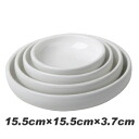 """15.5cmX15.5cmX3.7cm ""■ Korea tableware ■ Korea / Korea food / tableware / kitchen article / serving plate / dish / plate / is deep-discount"" a serving plate"