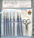 ETIMO ETIM lace needle set Royal silver Tulip
