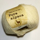 Great deals! Pure Alpaca ニッケビクター yarn: