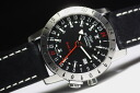 GMT with the needle! Made in Switzerland GLYCINEAirman Base 22-Airman base 22 automatic winding