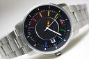 Made in Japan ORIENT stylish & smart DISK rainbow color automatic Chronograph Watch