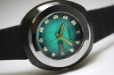 1970S CITIZEN custom V2 automatic winding watch green dial Blackie