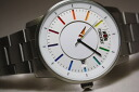 ORIENT Stai Risch & smart DISK rainbow color self-winding watch watch made in Japan