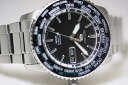Made in Japan SEIKO5SPORTS automatic movement water resistant 100 m / world time watch