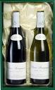 Leroy Cotto Bourguignon red white 2 piece set gift box