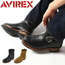 AVIREX avirex boots Engineer Boots HORNET mens short shoes shoes military biker