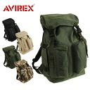AVIREX avirex EAGLE Eagle military backpack daypack backpack bag bag canvas men's women's biker