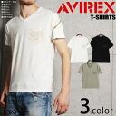 AVIREX avirex V neck short sleeve military T shirts USAF mens tops short sleeve T shirt V neck military print casual Tee custom