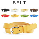 Square buckle Shin pull fake leather belt men gap Dis pin belt casual 定番細 belt slim belt single pin