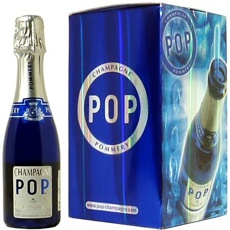 Pommery pop pink rose 200 ml x 4 box with wine france champagne ros 233