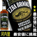 Ezra Brooks black 750 ml-45 degree Bourbon whiskey Ezra Bourbon whiskey kawahc