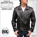 (Originl Brand )Men's Double Riders Leather Jacket (US type)(LMRJ003)