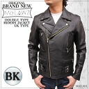 (Originl Brand Men's Riders) MLRJ004:Double Riders Leather Jacket (UK type)
